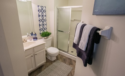 Bathroom Area at Kensington Grove Apartments in Westerville OH